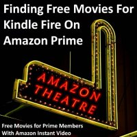 Finding Free Movies For Kindle Fire on Amazon Prime