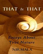 That Is That: Essays About True Nature - Book Cover