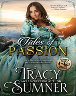 Tides of Passion: Historical Romance (Garrett Brothers Book 2) - Book Cover