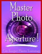 Master Photo Aperture! (On Target Photo Training) - Book Cover