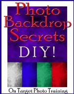 Photo Backdrop Secrets - DIY! (On Target Photo Training) - Book Cover