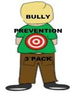 Bully Prevention- 3 Pack - Book Cover