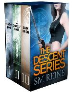 The Descent Series, Books 1-3: Death's Hand, The Darkest Gate,...