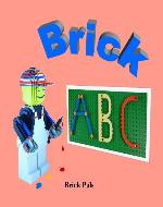 Brick ABC: An Alphabet Book Illustrated with LEGO Bricks - Book Cover