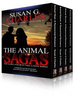 Werewolf Romance: The Animal Sagas: A Gray Wolf Pack Paranormal Romance Box Set: The Alpha and Beta Take a Mate Series - Book Cover