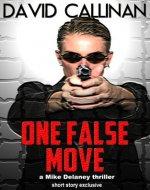 One False Move - Book Cover