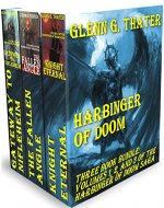 Harbinger of Doom ( Epic Fantasy Three Book Bundle) - Book Cover