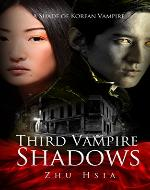 Third Vampire Shadows (An Urban Paranormal Romance Novel) - Book Cover