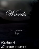 Words by Robert Zimmermann - Book Cover