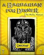 A Barbarian for Dinner - Book Cover