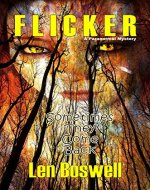 FLICKER: A Paranormal Mystery - Book Cover