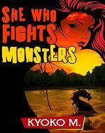 She Who Fights Monsters (The Black Parade series Book 3) - Book Cover