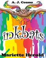 Inkbats: I is for Inkbat (Monsters A to Z Book 9) - Book Cover