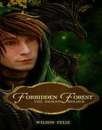 The Dragon Holder (The Forbidden Forest Book 1) - Book Cover