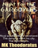 Night for the Gargoyles - Book Cover