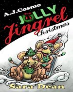 Jolly Jingrel Christmas (Monsters A to Z Book 12) - Book Cover