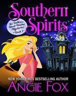 Southern Spirits (Southern Ghost Hunter Mysteries Book 1) - Book Cover