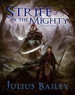 Strife of the Mighty: Book One Of The Chronicles Of Vrandalin (The Læl Chronicles 1) - Book Cover