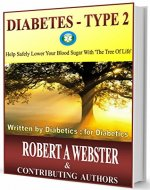DIABETES-TYPE 2: Help Safely Lower Your Blood Sugar With The Tree Of Life - Book Cover