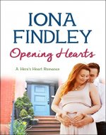 Opening Hearts: A Hero's Heart Romance #1 (Hero's Heart Series) - Book Cover