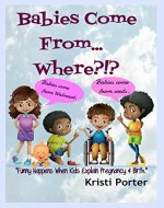 Babies Come From... Where?!?: Funny Happens When Kids Explain Pregnancy & Birth (Funny Happens series Book 3) - Book Cover