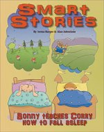 Bonny teaches Corry how to fall asleep (Smart Stories Book 4) - Book Cover