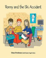 Ronny and the Ski Accident - Book Cover