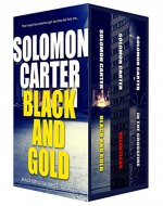 Black and Gold Vigilante Justice Action and Adventure Crime Thriller series books 1-3 - Book Cover
