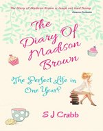 The Diary Of Madison Brown: The Perfect Life in One Year - Book Cover