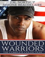 Wounded Warriors - The Complete Collection: Military Romance Boxed Set - Book Cover