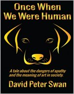 Once When We Were Human - Book Cover