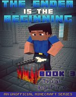 Minecraft: Diary - The Ender Is The Beginning (Book 3) - Trial by Fire (An Unofficial Minecraft Series) - Book Cover