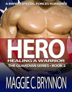 MILITARY ROMANCE: Hero: Healing a Warrior, Book 2: A BWWM Interracial Multicultural Romance (The Guardian Series) - Book Cover