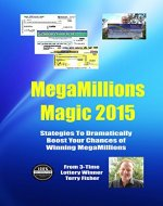 Megamillions Magic 2015: Strategies to Dramatically Boost Your Chances of Winning Megamillions - Book Cover