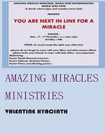 Amazing miracles ministries - Book Cover
