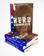 MILITARY ROMANCE: Hero Complete: A BWWM Interracial Multicultural Romance, Books 1-4: The Guardian Series - Book Cover