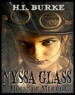 Nyssa Glass and the House of Mirrors - Book Cover