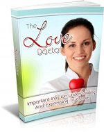 The Love Doctor: Important Info On Understanding And Expressing True Love - Book Cover