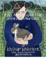 Dara - the wild rabbit that lived with humans - Book Cover