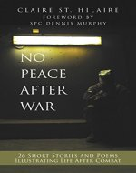 No Peace After War: Twenty-Six Short Stories and Poems Illustrating Life After Combat - Book Cover