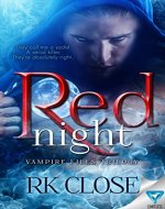 Red Night (Vampire Files Trilogy Book 1) - Book Cover