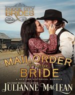 Mail Order Prairie Bride: (A Western Historical Romance) (Dodge City Brides Book 1) - Book Cover