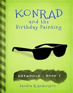Konrad and the Birthday Painting - Book Cover
