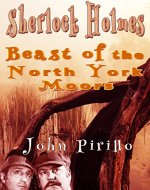 Sherlock Holmes Beast of the North York Moors - Book Cover