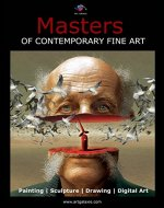 Masters of Contemporary Fine Art (International Artists Art book) - Book Cover