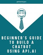 Beginner's guide to build chatbot using api.ai - Book Cover