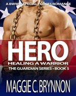 MILITARY ROMANCE: Hero: Healing a Warrior, Book 5: A BWWM Interracial Multicultural Romance (The Guardian Series) - Book Cover