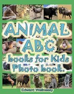 Animal ABC books for Kids Photo book: Photo books for kids consists of animals photos - Book Cover