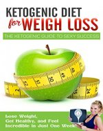 KETOGENIC DIET FOR WEIGHT LOSS: The Ketogenic Diet Plan Guide To SEXY Success, Tips and Tricks Of Ketogenic Diet Recipes: Lose Weight, Get Healthy, and ... Diet Recipes, Keto Diet, Keto Diet Plan) - Book Cover