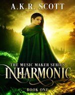 Inharmonic (The Music Maker Series Book 1) - Book Cover